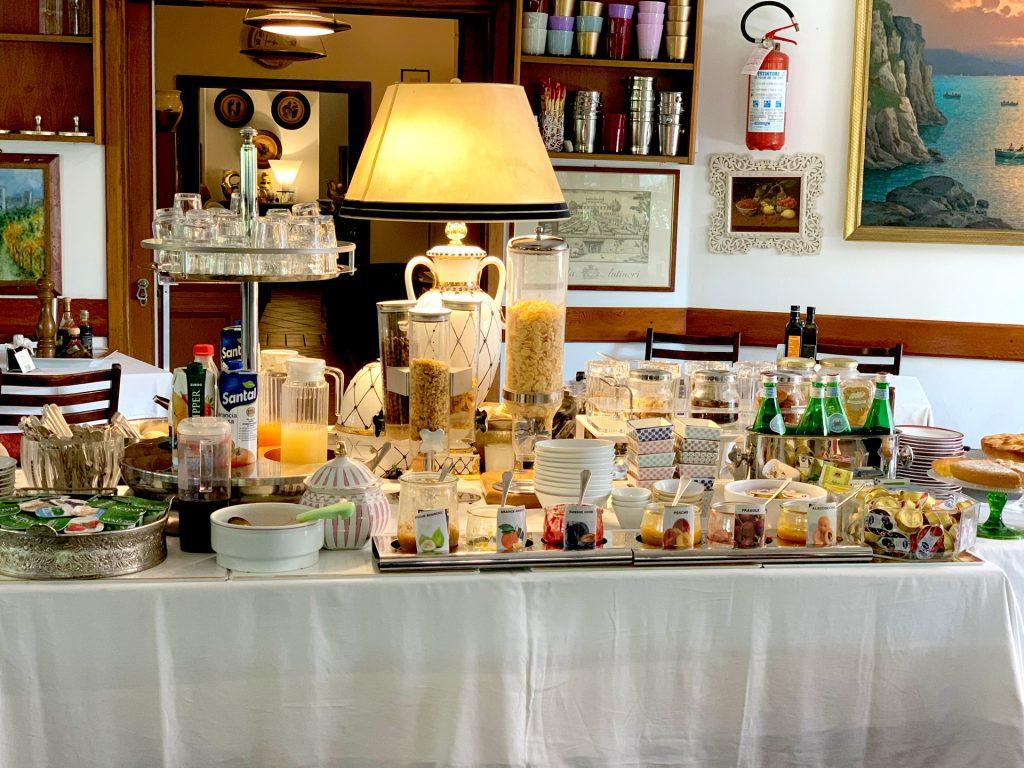 Hotel a Castiglione della Pescaia con colazione continentale, italiana, vegetariana, vegana, senza glutine