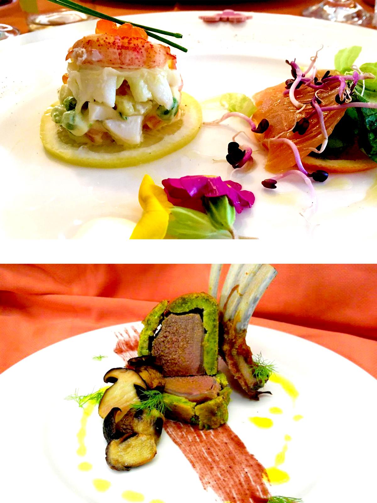 alberghi castiglione della pescaia con ristorante, i piatti del piccolo hotel